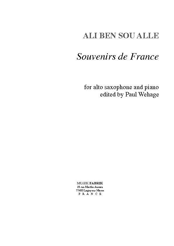 Souvenir de France